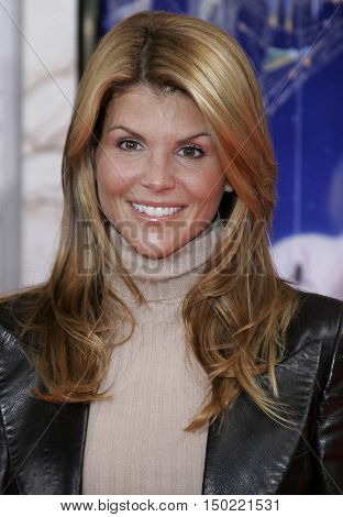 Lori Loughlin at the Los Angeles premiere of 'Charlotte's Web' held at the ArcLight Cinemas in Hollywood, USA on December 10, 2006.