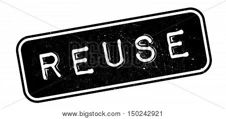 Reuse Rubber Stamp