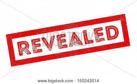 Revealed Rubber Stamp