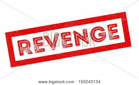 Revenge Rubber Stamp