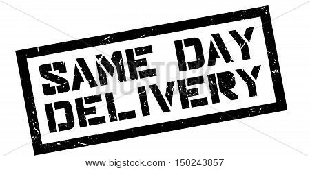 Same Day Delivery Rubber Stamp