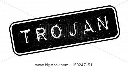 Trojan Rubber Stamp