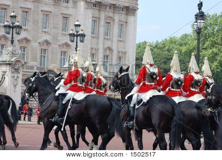 Cavalry Passing