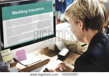 Wedding Insurance Purchase Sales Agreement Concept