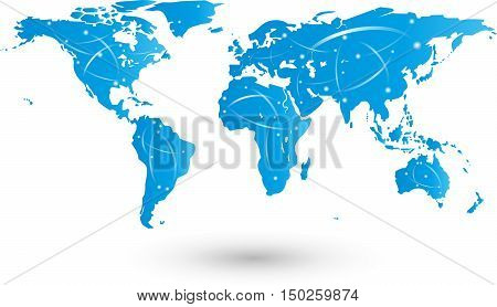 Earth, movement, world, world map, continents, map