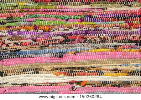 colorful carpet texture, handmade carpet, perfect background for your concept or project