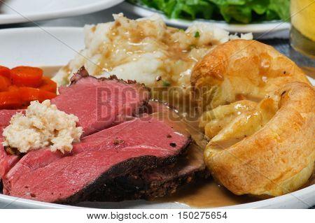 Roast Beef Dinner