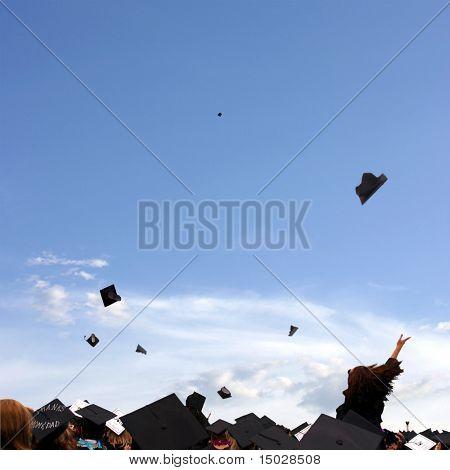 Abschluss Feier an der Universität