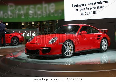 Porsche GT2 at the IAA in Germany