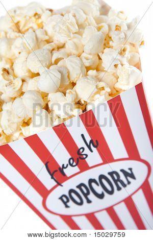 Popcorn-Nahaufnahme. Box dient und von mir selbst zu bauen. Keine Marke Probleme.