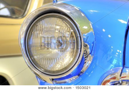 Headlight Of Vintage Car (Tone Mapping)