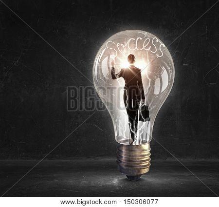 She is ideas generator . Mixed media