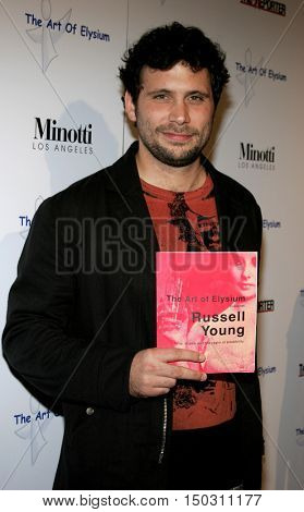 Jeremy Sisto at the Art of Elysium Presents Russel Young 'fame, shame and the realm of possibility' held at the Minotti Los Angeles in West Hollywood, USA on November 30, 2005.