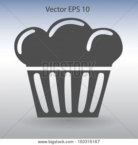 Flat icon cake icon