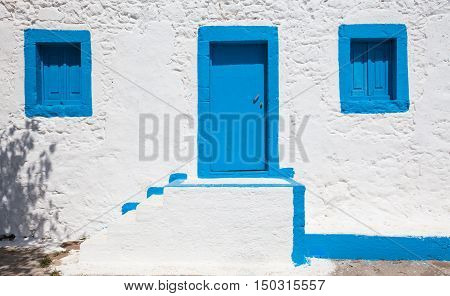 Fragment of house in Kos island Greece