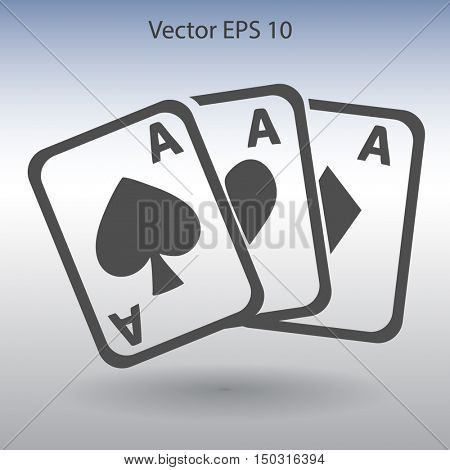 deck of cards vector illustration