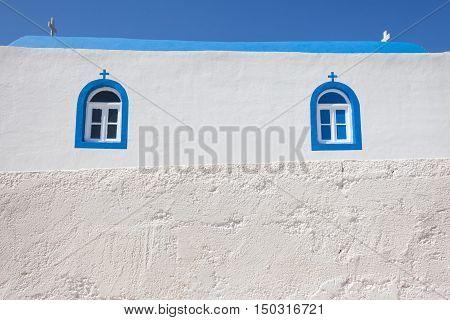 Fragment of small church in Kos island Greece