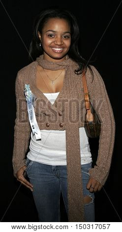 Kyla Pratt at the 2005 Hollywood Christmas Parade held at the Hollywood Roosevelt Hotel in Hollywood, USA on November 27, 2005.