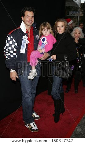 Antonio Sabato, Jr at the 2005 Hollywood Christmas Parade held at the Hollywood Roosevelt Hotel in Hollywood, USA on November 27, 2005.