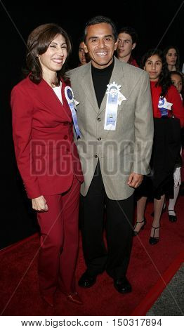 Antonio Villaraigosa at the 2005 Hollywood Christmas Parade held at the Hollywood Roosevelt Hotel in Hollywood, USA on November 27, 2005.