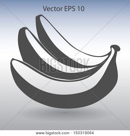 Bananas icon. Vector