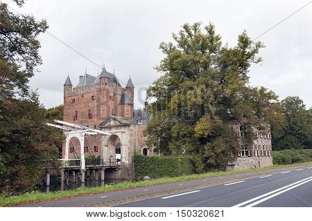 castlr of business university nyebrode in the dutch village of Breukelen