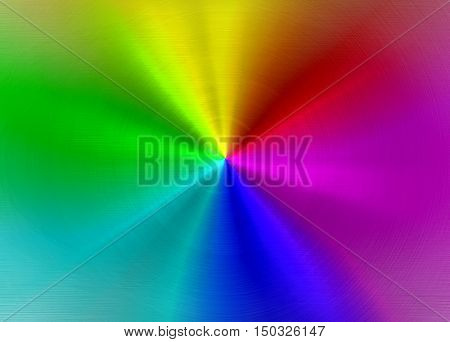 abstract colorful metal plate background