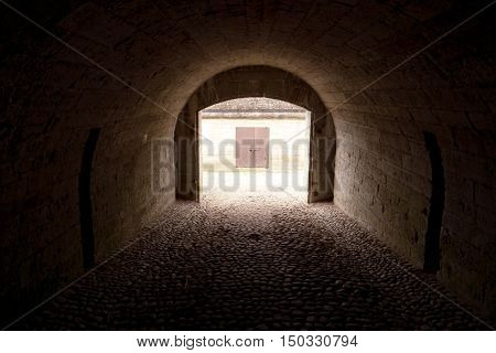 View In A Tunnel