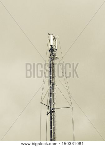 Vintage Looking Telecommunication Aerial Tower