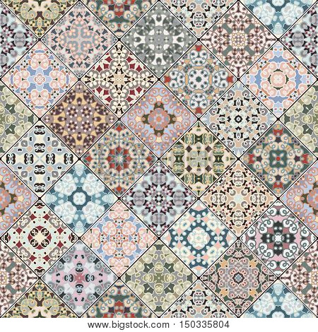 Patchwork Abstract Patterns