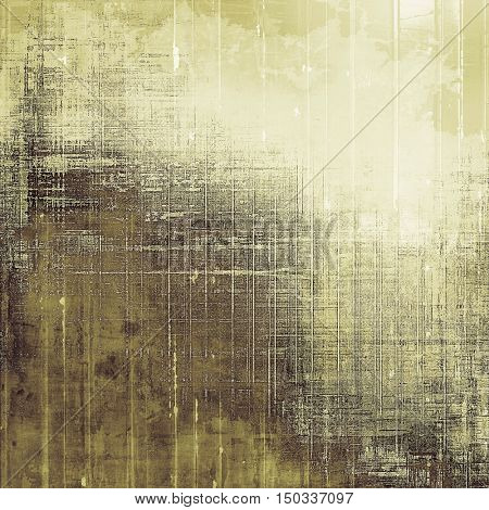 Grunge abstract textured background, aged backdrop with different color patterns: yellow (beige); brown; gray; white