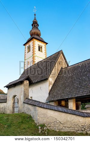 Church of St. John the Baptist at Bohinj Lake is over 700 years old and is a beautiful example of Middle Age architecture and fresco painting in Slovenia.