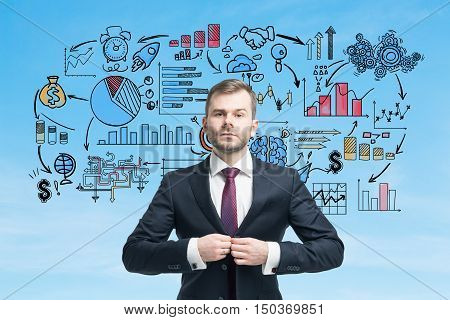 Serious Businessman And Startup Founder Portrait