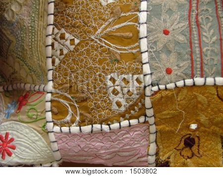 Patches Of Different Fabric