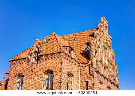 Historic Harbor Warehouse In Wismar