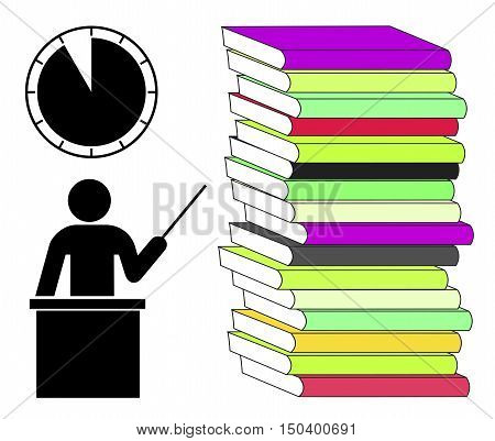 Studying under Pressure. Learning when you are hard pressed for time