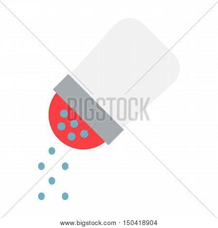 Salt flat icon. Illustration for web and mobile.