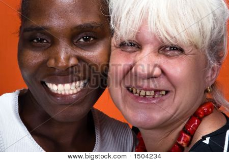 Dentistry Interracial Couple