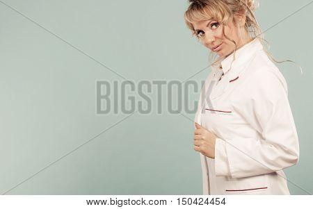 Middle Aged Female Medical Doctor.