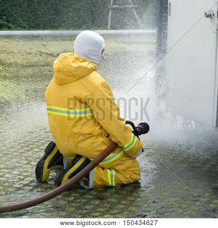 The Training operational firefighter, preparation for incidental
