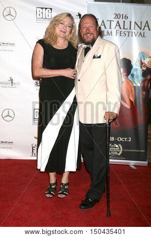 LOS ANGELES - OCT 1:  Elizabeth Bouma, Jeff Bouma at the Catalina Film Festival - Saturday at the Casino on October 1, 2016 in Avalon, Catalina Island, CA