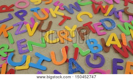 Encryption and other random alphabets