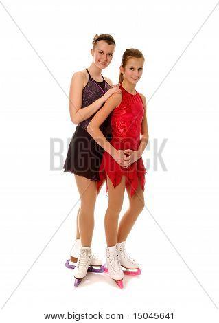 Figure Skaters Pair