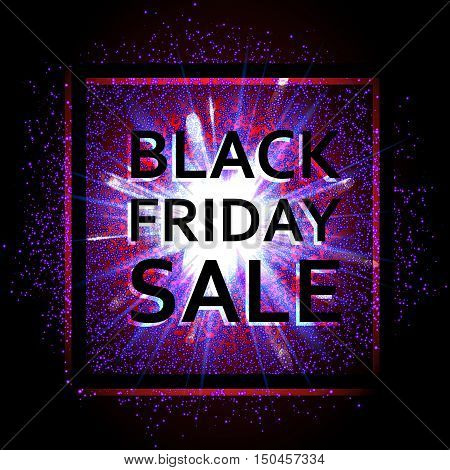 black friday, sale, discounts, advertising, autumn, november, season, marketing, market, explosion, glow, dust, sand, gas, glowing, hot, product, creative, banner, background, store, success, space, star, vector, design, data, trade, light, bright, busine