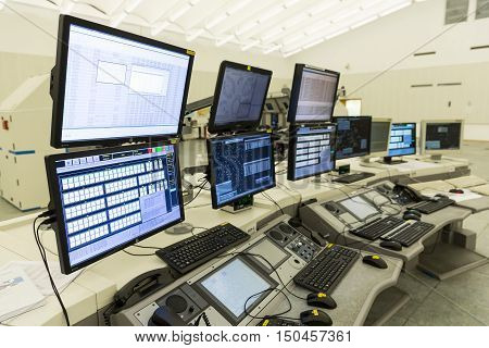 Air Traffic Services Authority Control Center No People