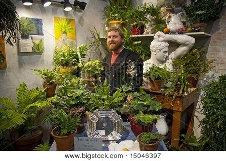 Albert Aldinger Artist Flower Show