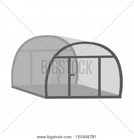 Greenhouse icon of vector illustration for web and mobile design