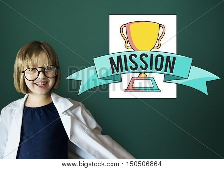 Mission Vision Accomplishment Award Concept