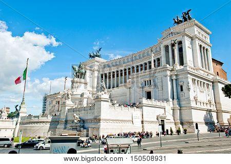 Piazza Venezia in Rome - Altar of the Fatherland