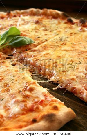 A tasty italian pizza